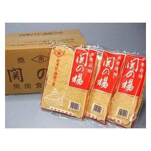 関の揚(南関あげ) 2枚×15袋箱入【熊本南関:南関食品】
