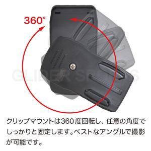 GoPro アクセサリー ベースマウント付クリップ|meijie-ec|05