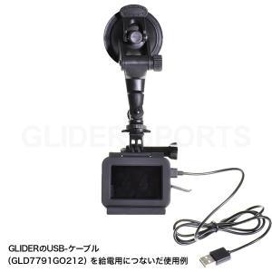 GoPro アクセサリー ミドルアーム付吸盤マウント 車 ドラレコ HERO/Session/Osmo Action|meijie-ec|02