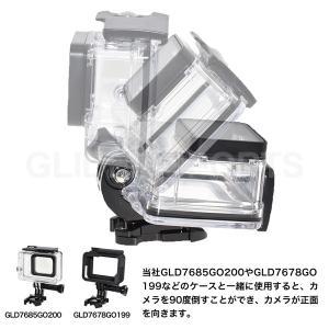 GoPro 用 アクセサリー Jフック2個 バックル (HERO8 等 GoPro シリーズ全般 Osmo Action 対応)|meijie-ec|03