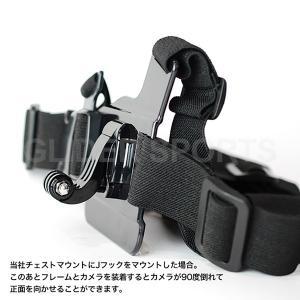 GoPro 用 アクセサリー Jフック2個 バックル (HERO8 等 GoPro シリーズ全般 Osmo Action 対応)|meijie-ec|04