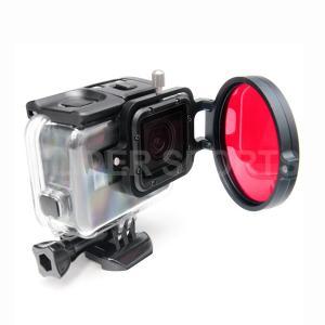 GoPro HERO7Black/6/5用アクセサリー ダイビングフィルター58mm 赤 海中撮影|meijie-ec|03