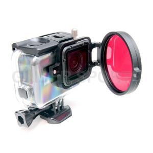 GoPro HERO7Black/HERO6/HERO5 アクセサリー フィルターシャックル58mm meijie-ec 03
