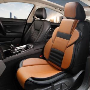 商品名:クッションシートカバーf1 前席用 材質:合成皮  おしゃれすぎる、個性的なクッションシート...