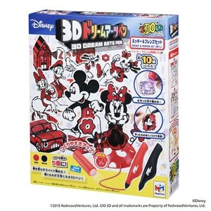 3Dドリームアーツペン ミッキー&フレンズセット|meipls