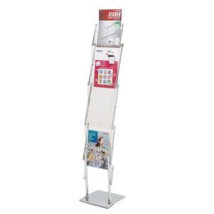 モバイルパンフレットスタンドII 本体+収納バッグ 51285-2*|meipls