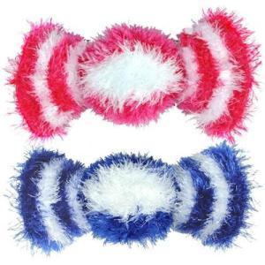 ペット用品 トルコ製犬用歯みがきおもちゃ オーマ・ロー メガキャンディ ブルー meipls