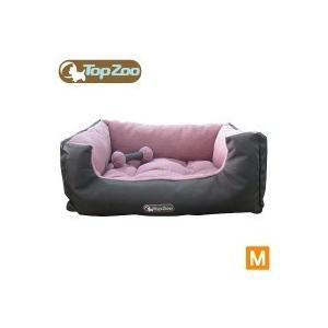 フランス TopZoo/トップズー ペットベッド ドゥドゥコージ キャンバスピンク M(W60×D45×H25cm) meipls