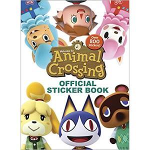 輸入本 どうぶつの森 オフィシャルステッカーブック Animal Crossing Official Sticker Book|meipls