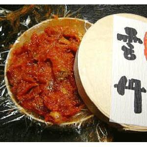 塩雲丹(うに) 80g×1 海からの贈り物 珍味の極上品(塩うに・塩ウニ) 汐うに 塩蔵 汐ウニ|meisankobo