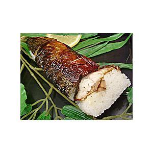 焼き鯖寿司 ハーフサイズを1本  焼き鯖 すし 鮨|meisankobo|05