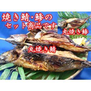 丸焼き鯵・鯖各5尾ずつ計10尾|meisankobo