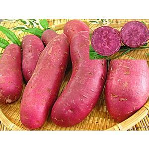 福井県産 紫色のサツマイモ 2kg 紫いも 紫芋 紫イモ meisankobo