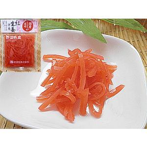 紅しょうが 紅生姜 10袋入り 合成保存料不使用 着色料不使用 野菜色素で着色紅 ショウガ 国産 日本産 国内産 ショウガ 使用 べにしょうが ベニ生姜|meisankobo