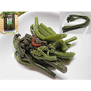 メール便 わらびのしょう油漬 1袋 入り わらび 醤油漬け 業務用にも 蕨 ワラビ わらびのしょう油漬け わらび しょうゆづけ わらびのしょう油づけ|meisankobo