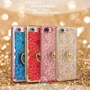 iPhoneX iphone8 plus リングケース iPhone7 iphone7 plus TPUソフトケース iphoneX TPUケース iphone6 plus iphone6s plus ソフトケース iphone8 スマホケース|meiseishop
