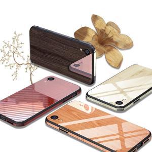 iPhone XS Max iPhone XR iPhone XS 強化ガラススマホ保護ケース ウッド木目柄 iphone 8 plus 背面ケース iphone 7 plus カバー iphone 6 plus アイフォンケース|meiseishop