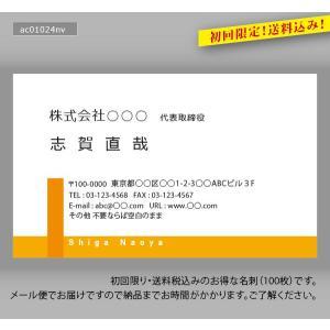 カラー名刺(100枚送料込み)|meishidas