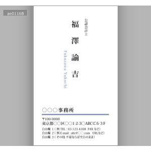 カラー名刺(100枚送料込み)ae0116|meishidas