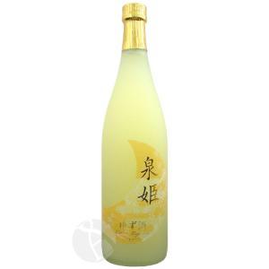 泉姫 ゆず酒 720ml 果実酒 いずみひめ