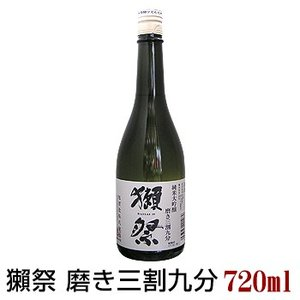 獺祭 純米大吟醸 磨き三割九分 720ml だっさい 39 旭酒造 日本酒 山口県
