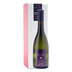 お中元  ギフト ≪日本酒≫ フモトヰ 米大吟醸 雪女神 720ml :麓井 ふもとい|meishu-honpo