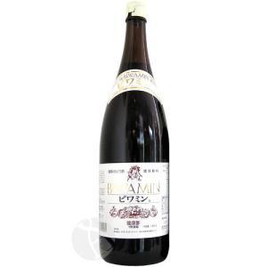 【2本以上のご注文で送料無料!】 健康ぶどう酢 BIWAMIN(ビワミン) 1800ml|meishu-honpo
