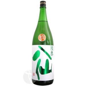 ≪日本酒≫ 陸奥八仙 緑ラベル 特別純米 ひやおろし 1800ml :むつはっせん|meishu-honpo