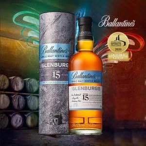 バランタイン シングルモルト グレンバーギー 15年 700ml 正規品 箱付《ウイスキー》イギリス/Ballantine's/シングルモルトスコッチウイスキー|meisyu-k