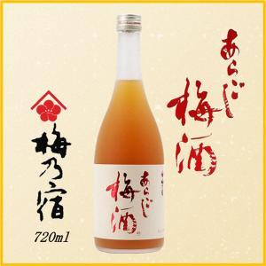 梅乃宿 あらごし梅酒 720ml《梅酒》梅乃宿酒造/奈良県/梅酒|meisyu-k