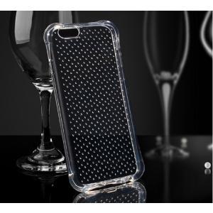 SALE【iphone7 plus ケース 衝撃吸収 点点付】iphone7 プラス TPU 5.5インチ クリア カバー ソフトケース 透明 耐衝撃