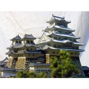 オーダー製作完成品・プレミアム姫路城ジオラマ ガラスケース別...