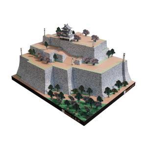 国重要文化財 丸亀城ペーパークラフト ファセット製