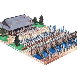 戦国合戦 本能寺の変ペーパークラフト(ファセット製)