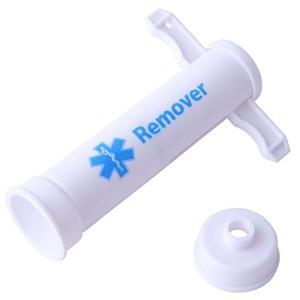 NEW ポイズンリムーバーは、携帯しやすいコンパクトなボディながら、簡単な操作で毒を吸引し傷口から抽...