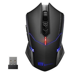 無線マウス 超静音なクリック 5段階DPI調整可能 初心ゲーマーに向け 2.4G 省電力機能付き ワ...