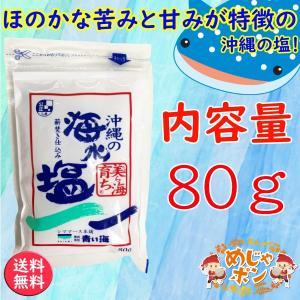 沖縄 海水 塩 沖縄の海水塩 美ら海育ち 80g1袋セット おすすめ