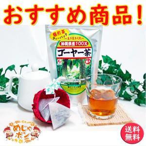 ゴーヤ茶 ゴーヤ 沖縄県産 健康茶 種入り ゴーヤー茶ティーパック 45g(1.5g×30包入)×5個セット お土産  おすすめ|mejapon