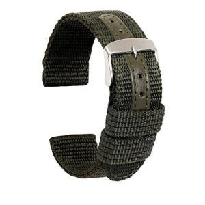 Ullchro 時計ベルト 時計 ベルト ファブリック 生活防水 - 18mm 20mm 22mm 24mm 時計 バンド 時計バンド 替えベルト 替|meki
