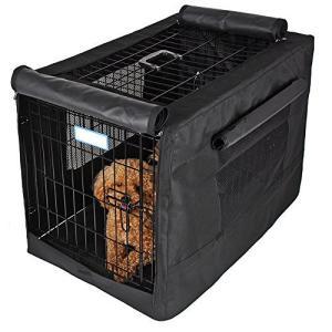 犬小屋ケージカバー ペットサークルカバー ケージカバー 犬猫用 防音 虫よけ 風よけ 日よけ 雨よけ 雪よけ 簡単取り付け 折りたたみ 収納便利 (S meki