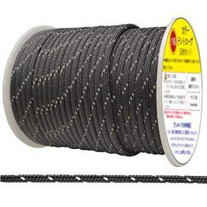 テントロープ 反射材入り 長さ50m 直径4mm ボビン巻型 テント用ロープ パラコード 張り綱 テント ロープ サバイバル アウトドア キャンプ 用 meki
