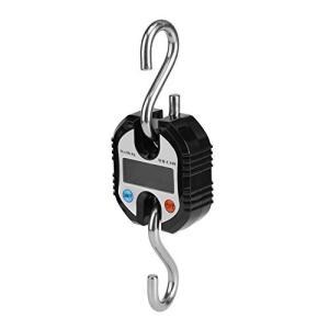 デジタルクレーンスケール 電子クレーンスケール 最大計量150kg 精度50g バックライト 風袋引き機能付 LCDディスプレイ付き 見やすい 吊り下|meki
