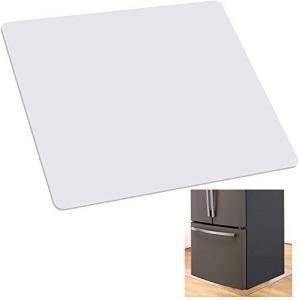 2021最新冷蔵庫マット キズ防止 凹み防止 床保護シート 滑り止め 床暖房対応 下敷き 防振 マット ポリカーボネート製 冷蔵庫 マット無色無臭 透|meki