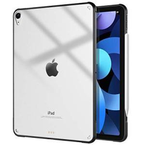iPad air 4 ケース 2020 10.9インチ TiMOVO iPad air 4 カバー iPad Air 第4世代 TPU縁+PC背面ケー|meki