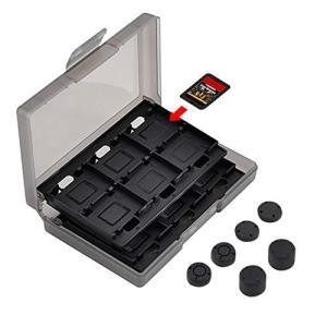 ゲームカードケース ニンテンドースイッチ ゲームカード収納 Gecen switch専用カードケース ゲームカード収納ケース 24枚収納可能 滑り止め|meki