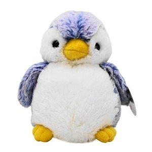オーロラ ワールド ぬいぐるみ パウダーキッズ ペンギン S ブルー|meki