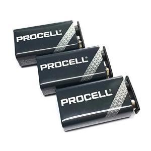 DURACELL PROCELL エフェクター角電池/006P(9V) プロ仕様楽器用アルカリ デュラセル/プロセル3個パック|meki