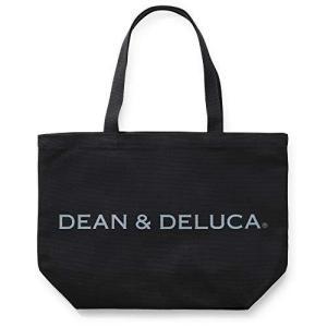 ディーン & デルーカ トートバッグ L ブラック 無地 マザーズバッグ 折りたたみ エコバッグ 縦32cm×横45cm×マチ13cm|meki
