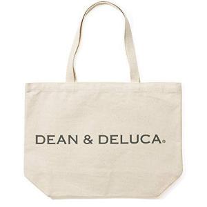 DEAN & DELUCA トートバッグ L ナチュラル 無地 実用的 マザーズバッグ 折りたたみ エコバッグ 縦32cm×横45cm×マチ13cm|meki