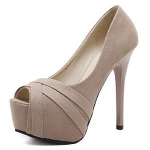 [ココマリ] ハイヒール パンプス 美脚 オープントゥ フォーマル パーティー ピンヒール おしゃれ 靴 ヒール レディース 結婚式サンダル 女性 可|meki